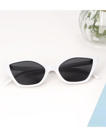 Fashion White Square Shape Design Glasses