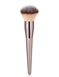 Fashion Champagne Flame Shape Design Powder Brush(1pc)