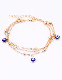 Fashion Gold Color Multi-layer Design Bracelet