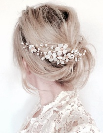 Fashion Silver Color Flower Shape Decorated Hair Accessories
