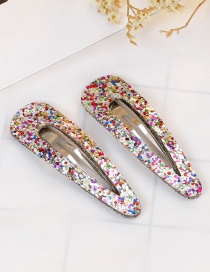 Lovely Multi-color Color Matching Design Child Hair Clip(1pair)