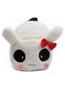 Fashion White Panda Shape Decorated Bag
