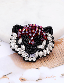 Fashion Multi-color Bead&diamond Decorated Patch