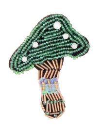 Fashion Multi-color Mushroom Shape Design Simple Patch
