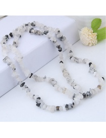 Fashion White Pure Color Decorated Accessories
