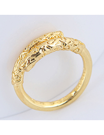 Fashion Gold Gold Hoop Ring