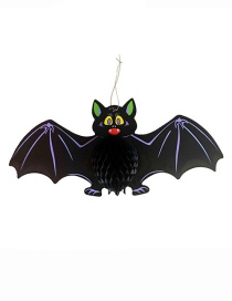 Fashion Black Bat Shape Decorated Cosplay Props
