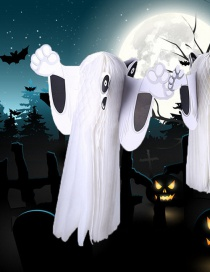 Fashion White Ghost Shape Design Cosplay Props