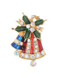 Fashion Multi-color Bell Shape Decorated Brooch