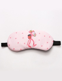 Fashion Pink Leopard Pattern Decorated Eyepatch