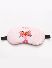 Fashion Pink Letter&leopard Pattern Decorated Eyepatch