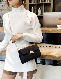 Fashion Black Square Shape Design Bag
