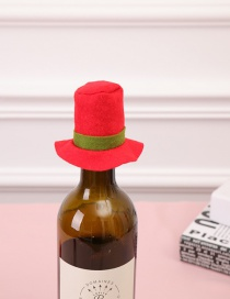 Fashion Red Color Matching Decorated Hat For Decoration