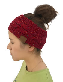 Fashion Red Letter Pattern Decorated Hat