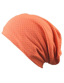 Fashion Orange Dots Pattern Decorated Hat