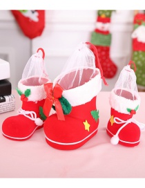 Fashion Red Bowknot Decorated Christmas Christmas Sock(s)