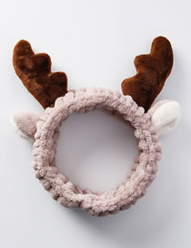 Fashion Brown Deer Shape Decorated Hairband