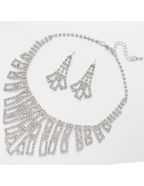 Fashion Silver Color Hollow Out Design Bridal Jewelry Sets