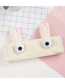 Fashion Beige Rabbit Shape Decorated Hairband