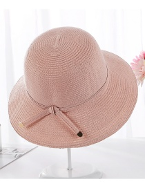 Fashion Pink Sun Protection Visor Hat