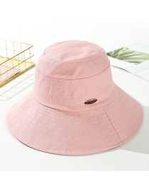 Fashion Pink Cotton Line: Big Sun Hat