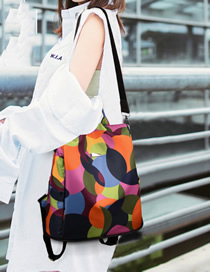 Fashion Color Oxford Cloth Backpack
