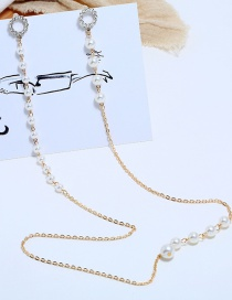 Fashion Gold Portrait Alloy One-piece Necklace Earrings