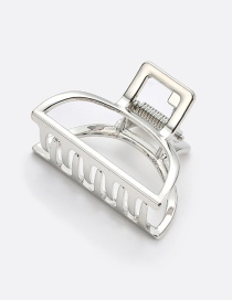 Fashion Bright Silver Alloy Small Grab