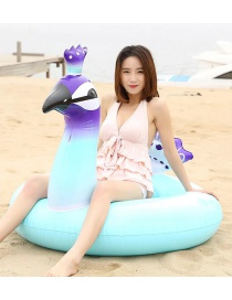 Fashion Large Inflatable Peacock Mount Swimming Ring