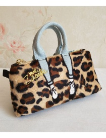 Fashion Leopard Print Beautiful Leg Clutch