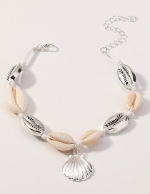 Fashion Silver Shell Anklet