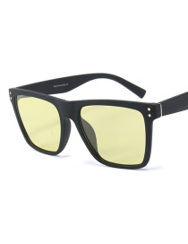 Fashion Yellow To Gray Day And Night Dual-use Polarized Polarized Light C1 Day And Night Driving Glasses