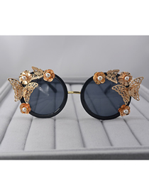 Fashion Gold Butterfly Sunglasses