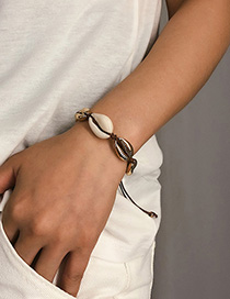 Fashion Bracelet Gold Natural Shell Adjustable Suit Necklace