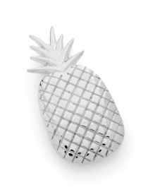 Fashion H96 Silver Pineapple Large Spring Clip