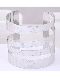 Fashion Silver Metal Opening Bracelet