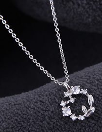 Fashion Silver Copper Plated Gold Necklace