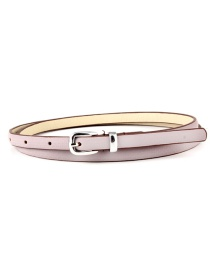 Fashion Purple Pin Buckle Belt