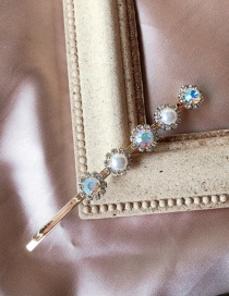 Fashion Color Pearl Color Hairpin