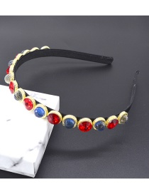 Fashion Red Alloy Hoop