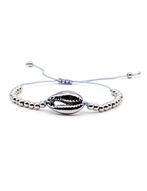 Fashion Silver Natural Shell Gold-plated Bracelet