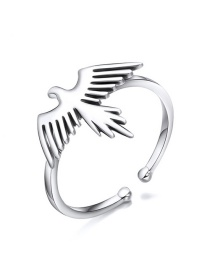 Fashion Silver 925 Silver Open Animal Ring