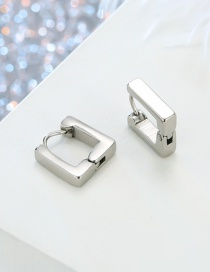 Fashion Square Stainless Steel Earring one pc
