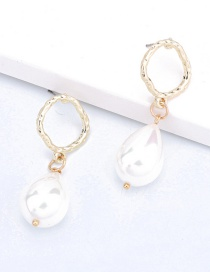 Fashion White Shell Pearl Earrings