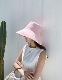 Fashion Pink Double Sun Hat