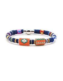 Fashion Color Beizhu Cloth Rope Bracelet