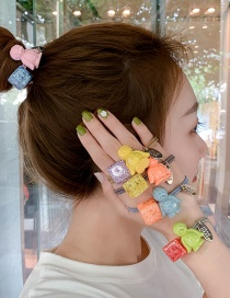 Fashion Pink (small Penguin) Penguin Hair Ring