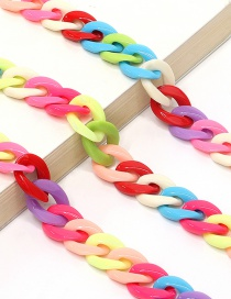 Color Acrylic Glasses Chain