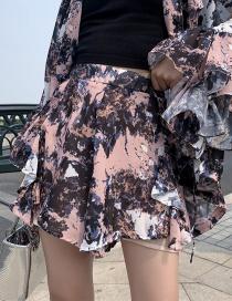 Pantalones Cortos Impresos En Tinta