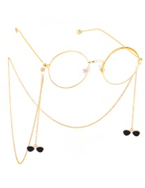 Fashion Gold Hanging Neck Color Chain Glasses Chain